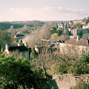 View over Bradford-on-Avon